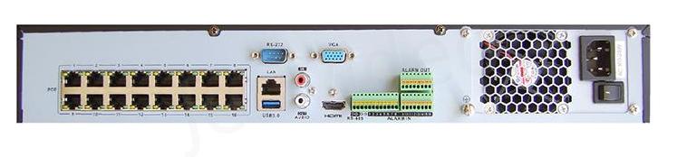 Купить 16 канальный Hikvision DS-7716NI-E4-16P (POE 16 каналов)