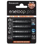 Купить Аккумулятор AA Panasonic Eneloop Pro BK-3HCDE/4BE, AA/(HR6), 2500mAh, LSD Ni-MH, блистер 4шт, цена за уп., Japan