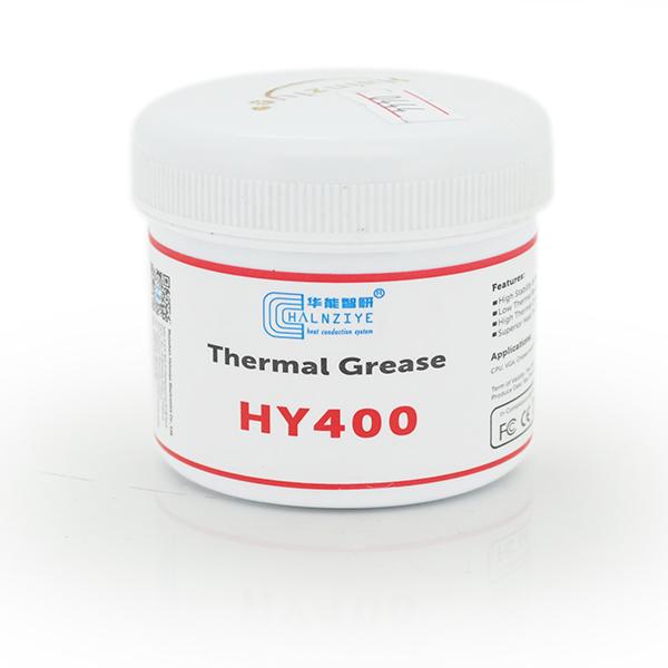 Купить Паста термопроводная HY-410 100g, банка, White, >0,925W/m-K,