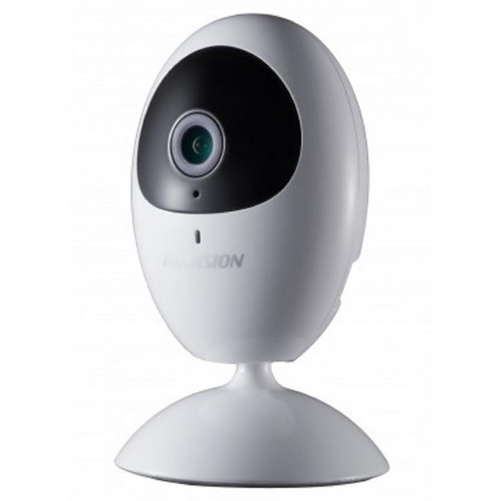 Купить 1МП Камера кубическая со звуком и SD картой Hikvision DS-2CD2410F-IW (2.8 мм)