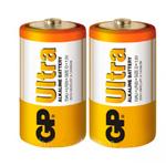 Купить Батарейка GP Ultra Plus 24AUP-2S2, щелочная AAA, 2 шт в вакуумной упаковке, цена за упаковку