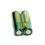 Купить Батарейка солевая GP Greencell 24G-S2, AAA, 2 шт в вакуумной упаковке, цена за упаковку