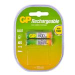 Купить Аккумулятор АAA GP 80АAAHC-2UEC2, 800mAh, 2шт в блистере, цена за блистер