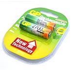 Купить Аккумулятор PKCELL 1.2V  AA 2000mAh NiMH Already Charged, 4 штуки в блистере цена за блистер