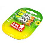Купить Аккумулятор PKCELL 1.2V  AA 600mAh NiMH Already Charged, 2 штуки в блистере цена за блистер