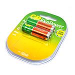 Купить Аккумулятор PKCELL 1.2V  AAA 1000mAh NiMH Already Charged, 4 штуки в блистере цена за блистер