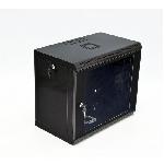 Купить Шафа 6U, 600x350x373мм (Ш*Г*В), економ, акрилове скло, чорна