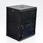 Купить Шафа 12U, 600x600x640мм (Ш*Г*В), економ, акрилове скло, чорна