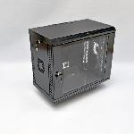 Купить Шафа 9U, 600х350х507 мм (Ш*Г*В), акрилове скло, чорна