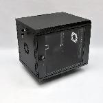 Купить Шафа 9U, 600х500х507 мм (Ш*Г*В), акрилове скло, чорна