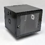 Купить Шафа 9U, 600х600х507 мм (Ш*Г*В), акрилове скло, чорна