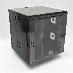 Купить Шафа 12U, 600х500х640 мм (Ш*Г*В), акрС–лове скло, чорна