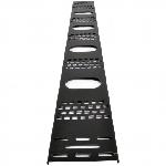 Купить Вертикальний кабельний органС–затор 24U до шаф MGSE, (ширина 120 мм)