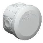 Купить Коробка распределительная наружная Т25 80х50x50 IP66 цвет белый