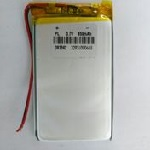 Купить Литий-полимерный аккумулятор 4*29*70mm (1100mAh 3,7V)