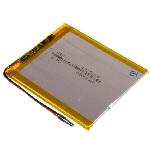 Купить Литий-полимерный аккумулятор 4*50*50mm (1000mAh 3,7V)