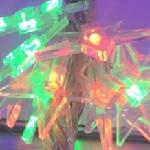 Купить Гирлянды 300LED (Свеча) Red/Green/Blue/Yellow, 16метров, прозрачная изоляция, BOX