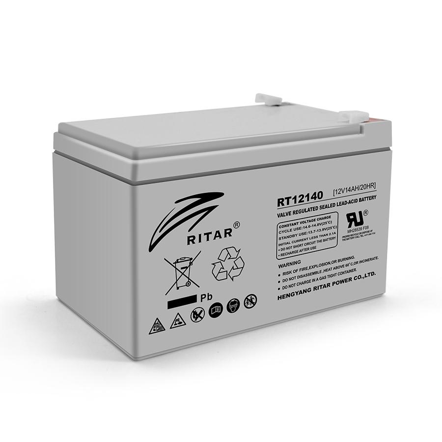 Купить Аккумуляторная батарея AGM RITAR RT12140H, Gray Case, 12V 14.0Ah  ( 151 x 98 x 95 (101) ) Q4