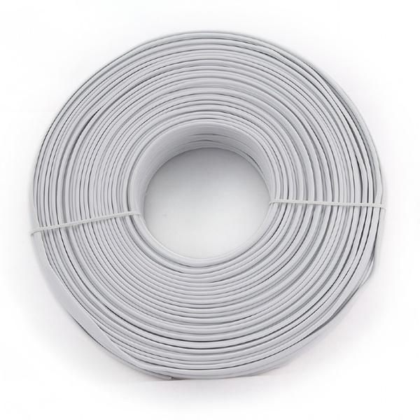Купить Телефонный кабель Merlion 4 жильный 28awg CCS 100метров в бухте серый