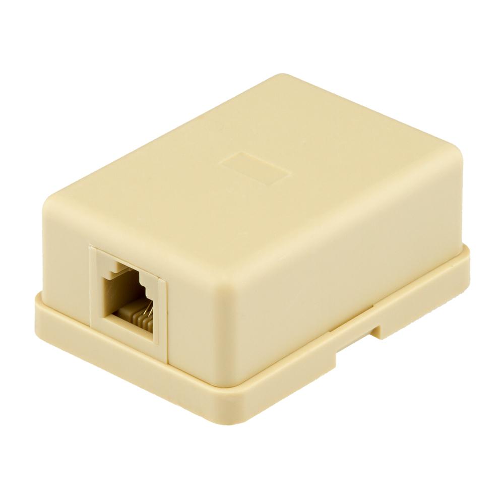 Купить Соединитель RJ45 8P8C мама/мама RJ45 для соединения кабеля, белый, Q100
