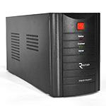 Купить ИБП Ritar  RTM2000 (1200W) Proxima-D LCD, AVR, 3st, 3xSCHUKO socket, 4x12V7,5Ah, metal Case Q1 (500*245*345) 20 кг (400*145*210)