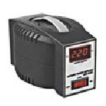 Купить Стабилизатор напряжения релейный LUXEON AVR-500D, 500VA, 350ВТ, 4 ступени, 140-260V, 220 В± 8%, 1 Shuko, Пластик, Black