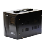 Купить Стабилизатор напряжения симисторный LUXEON EDR-500, 500VA, 350ВТ, 90-260V, 220 В±3-7%, 1 Shuko, Металл, Black