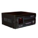 Купить Стабилизатор напряжения релейный LUXEON LDR-1000, 1000VA, 700ВТ, LCD, 6 ступеней, 105-270V, 220 В± 10%, 1 Shuko, Металл, White