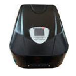 Купить Стабилизатор напряжения настенный релейный LUXEON WDR-10kVA, 10000VA, 7000ВТ, LED, 6 ступеней, 115-270V, 220 В± 6%, клемы, Металл, Black