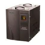Купить Стабилизатор напряжения сервоприводный LUXEON LDS-10kVA, 10000VA, 7000ВТ, LED, 140-260V, 220 В± 3%, клемы, Металл, Black