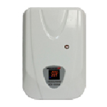 Купить Стабилизатор напряжения настенный сервоприводный LUXEON WDS-10kVA, 10000VA, 7000ВТ, LED, 6 ступеней, 140-270V, 220 В± 3%, клемы, Металл, White