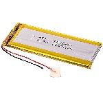Купить Литий-полимерный аккумулятор 4*27*70mm (1100mAh 3,7V)