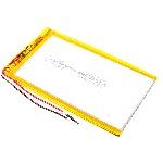 Купить Литий-полимерный аккумулятор 4*50*85mm (2000mAh 3,7V)