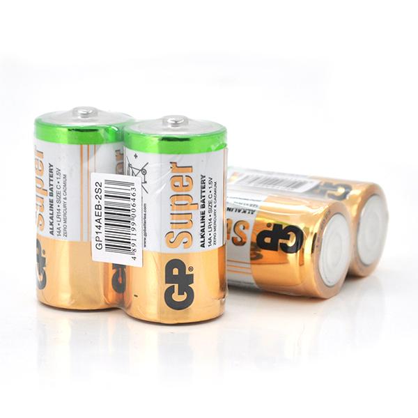 Купить Батарейка GP Super 15A-S2, щелочная AA, 2 шт в вакуумной упаковке, цена за упаковку