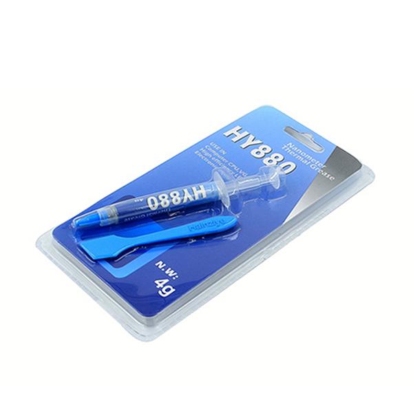Купить Паста термопроводная HY-880 4g, шприц, Grey, >5,15W/m-K,