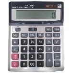 Купить Калькулятор офисный DM-1200V, 31 кнопка, серебристый, размеры 190*146*27 мм, Box