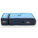 Купить Тестер кабельный M726ATUSB, RJ-45+USB, батарейки в комплекте нет