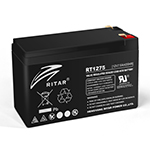 Купить Аккумуляторная батарея AGM RITAR RT1275B, Black Case, 12V 7.5Ah  ( 151 х 65 х 94 (100) ) Q10