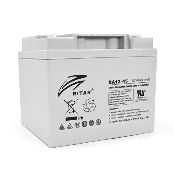 Купить Аккумуляторная батарея AGM RITAR RA12-45, Gray Case, 12V 45.0Ah (198 x 166 x169 ) Q1