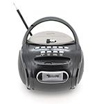 Купить Радиоприемник COLON RX-186, Led, 2x3W, FM радио, Входы microSD, USB, AUX, корпус пластмасс, Black, BOX