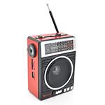 Купить Радиоприемник COLON RX-081, FM радио, Входы microSD, USB, AUX, корпус пластмасс, Black/Blue, BOX