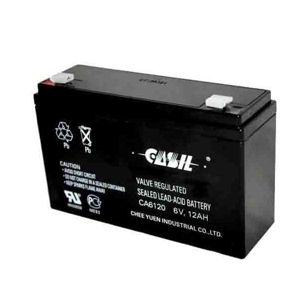 Купить Аккумуляторная батарея 6V 3.3Ah Casil CA633 125x34x60(66), Вес: 615g