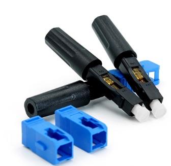 Купить Коннектор SC \/ UPC-D быстрого монтажа, для плоского кабеля без защелки, цена за 1 шт, Q100