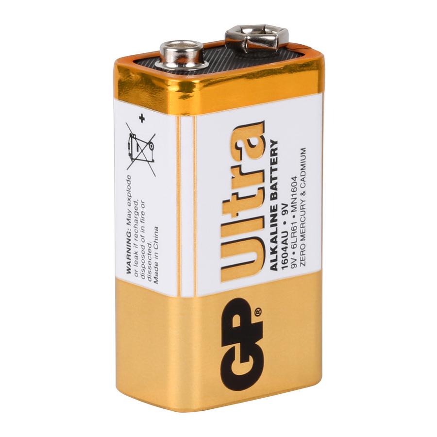 Купить Батарейка GP 13AEB-2S2 R20 щелочная, 2 шт в вакуумной упаковке, цена за упаковку