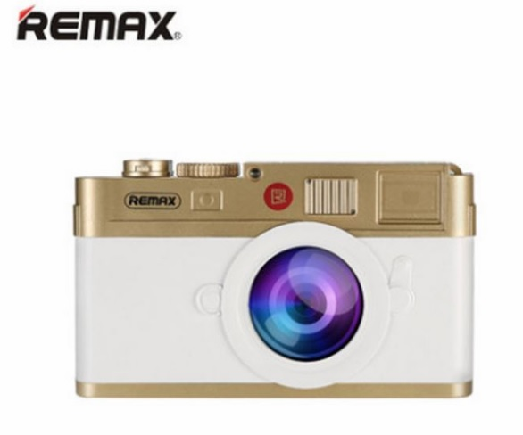 Купить Powerbank (Polymer Battery) Remax Lycra RPP-31, 2xUSB, 5V, 2.1A, 10000mAh, White+Gold, Blister