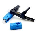 Купить Коннектор SC \/ UPC-D быстрого монтажа, для плоского кабеля на защелке, цена за 1 шт, Q100