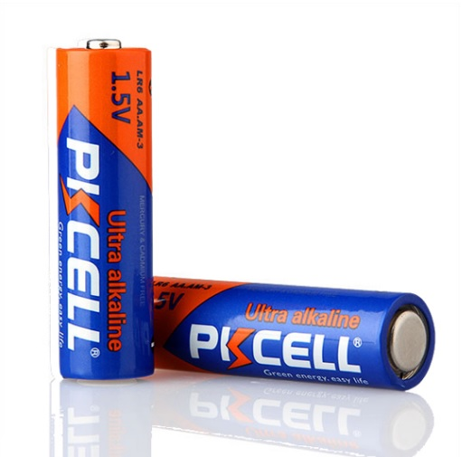 Купить Батарейка щелочная PKCELL 1.5V AA/LR6, 2 штуки shrink цена за shrink