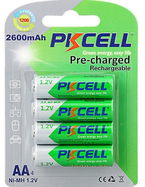 Купить Батарейка солевая PKCELL 1.5V AAA/R03, 24 штуки в блистере цена за блистер