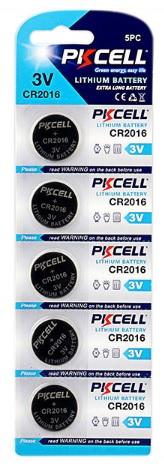 Купить Батарейка литиевая PKCELL CR2016, 5 шт в блистере (упак.100 штук) цена за блист. Q30