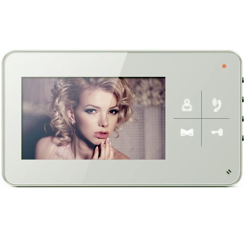 """Купить Видеодомофон Qualvision QV-IDS4425 белый 4.3"""" цветной монитор"""